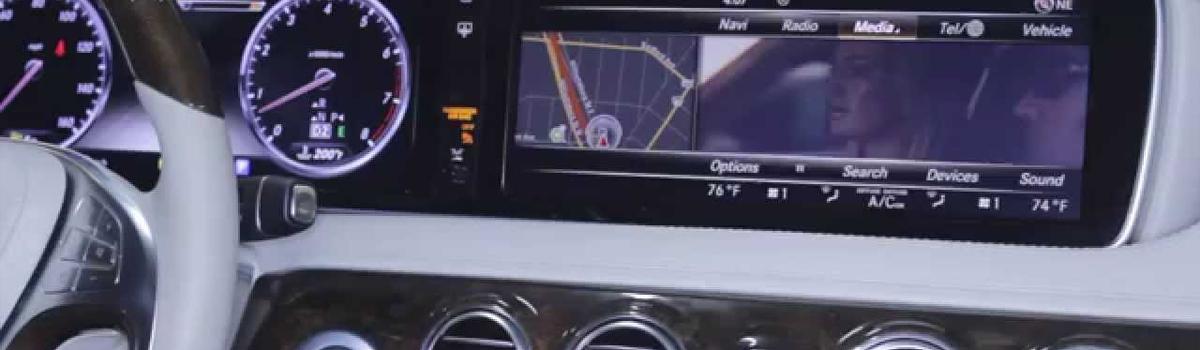 Активация TV/DVD и видео при движении на Mercedes