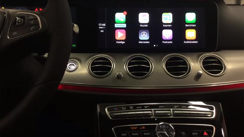 Активация опции CarPlay и AndroidAuto в Mercedes-Benz
