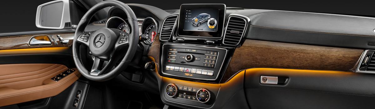 Каталог головных устройств Comand NTG Mercedes-Benz