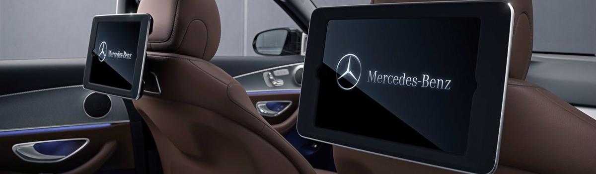Мониторы Android на подголовники Mercedes-Benz (навесные)