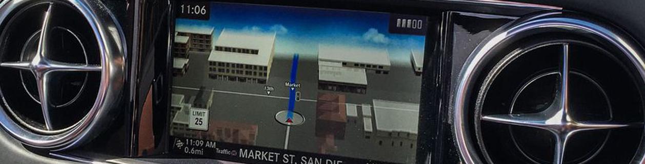 3D GPS навигация