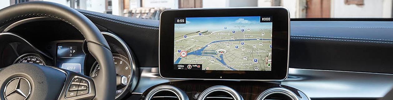 GPS навигация для Mercedes-Benz