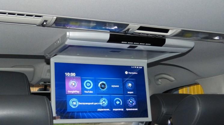 Потолочный Android монитор для пассажиров 17.3 дюйма
