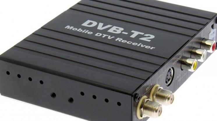 ТВ-тюнер на 2 антенны стандарта DVB-T2