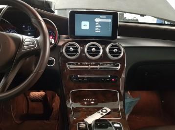 Установка DVB-T2 тюнера в Mercedes-Benz GLC-Class (X253)
