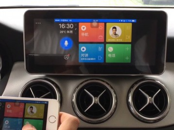 Android для Comand 5 Mercedes GLC-class (X253)
