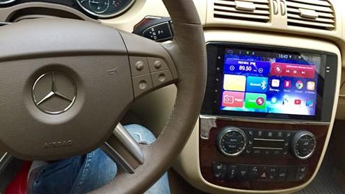 Заменители штатных оригинальных магнитол Mercedes-Benz