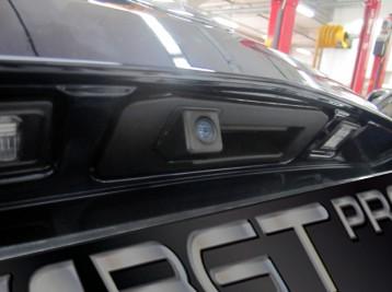 Камера на Mercedes GLK W204