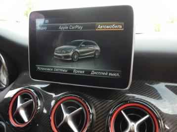 Подключение системы CarPlay к системе Comand Mercedes