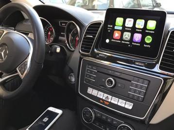 Система CarPlay на Mercedes GLS-class