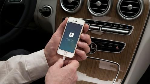Активация опции CarPlay и Android Auto в Mercedes-Benz