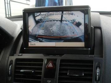 Подключение камеры на Mercedes-Benz C-Class (W204)