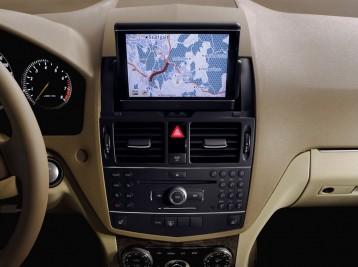 Прошитая навигация на Mercedes-Benz C-Class (W204)