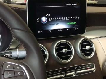 Подключение телефона к Comand Mercedes GLC-class (x253)