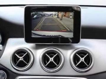 Установка камеры заднего вида Mercedes-Benz CLA-Class (C117)