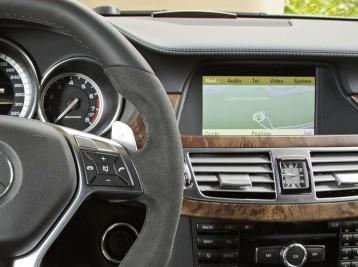 Прошивка навигации  в Mercedes-Benz CLS-Class (W218)