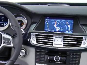 Громкая связь и выход в интернет на Mercedes-Benz CLS-Class (W218)