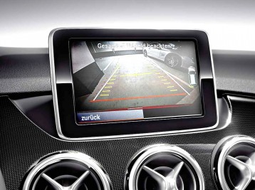 Подключение камеры заднего вида Mercedes-Benz B-Сlass (W246)