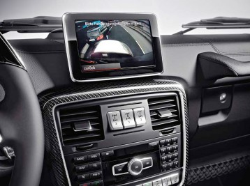 Установка камеры заднего вида Mercedes-Benz G-Сlass (W463)