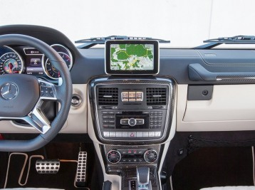 Прошитая навигация с картами Европы в Mercedes-Benz G-Сlass (W463)