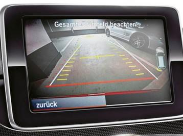 Установка камеры заднего вида Mercedes-Benz B-Сlass (W176)