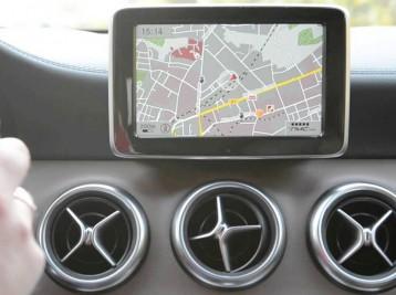 Подробные GPS карты в Mercedes-Benz B-Сlass (W176)
