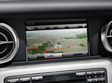 Прошивка навигации на Mercedes-Benz SLK-Class (R172)