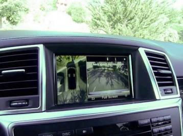 Камера заднего вида для Mercedes-Benz M-Class (W166)