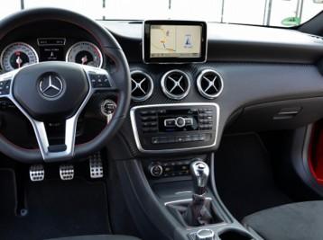 Прошивка GPS навигации в Mercedes-Benz A-Class (W176)