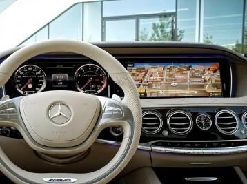 Прошивка оригинальной GPS навигации в Mercedes-Benz S-Class (W222)