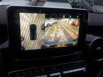 Система кругового обзора для Mercedes-Benz V-class (W447)