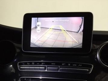 Подключение камеры заднего вида в  Mercedes-Benz V-class (W447)