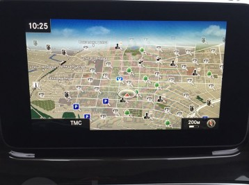 GPS навигация на Comand NTG 5 Mercedes-Benz V-class (W447)