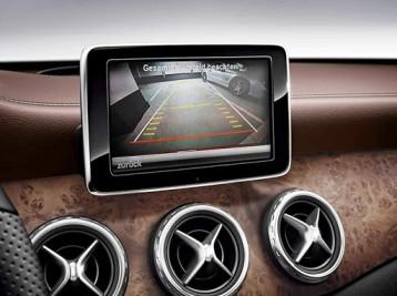 Установка камеры заднего вида на Mercedes-Benz GLA-Class (X156)