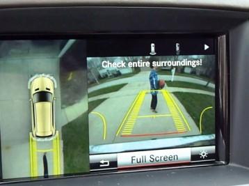 Установка камеры заднего вида на Mercedes-Benz GL-Сlass (X166)