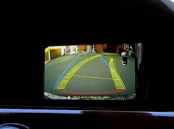 Установка камеры заднего вида на Mercedes-Benz GLK-Class (X204) рестайлинг