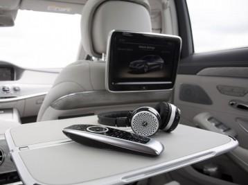 Оригинальные мониторы на подголовники Mercedes-Benz S-Class (W222)