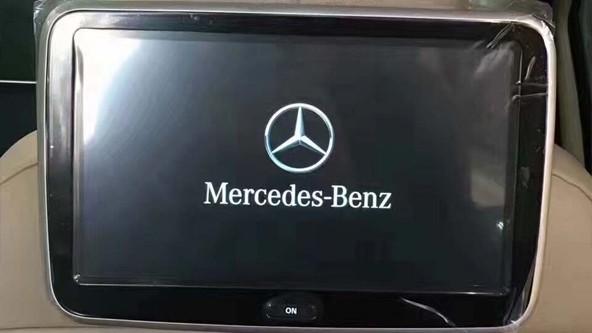 Мониторы в подголовники Mercedes. Потолочный монитор