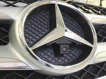 Установка передней камеры Mercedes