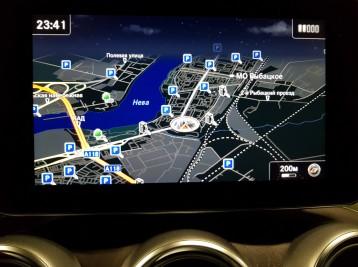 Прошивка оригинальной GPS навигации в Mercedes-Benz GLC-Class (X253)