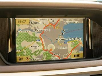 GPS навигация с картами Европы или Украины
