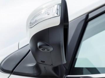 Установка камеры в боковое зеркало Mercedes