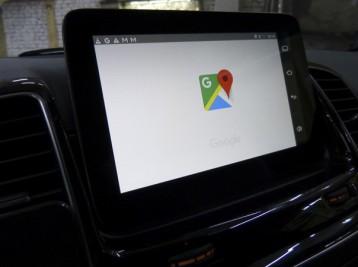 Карта Google Mercedes