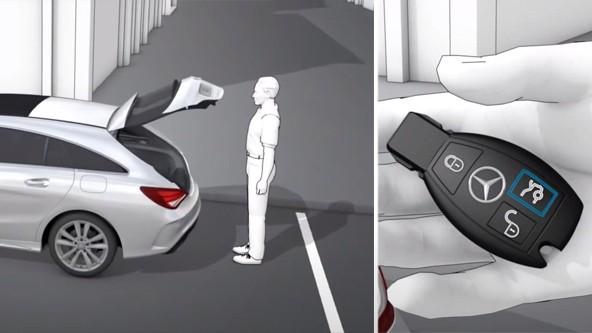 Электропривод крышки багажника