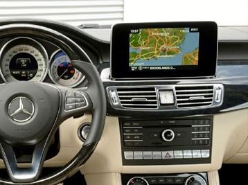 Установка Comand в Mercedes CLS-Class W218 2014