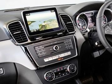 Установка Comand в Mercedes GLE-Class W166 2015