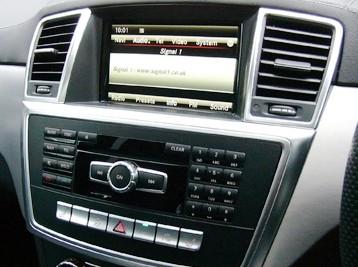 Установка Comand в Mercedes GL-Class X166