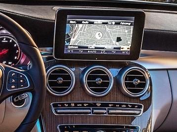 Установка Comand в Mercedes С-Class W205