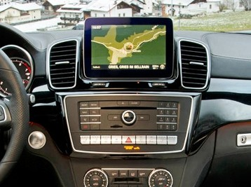 Установка Comand в Mercedes GLS X166