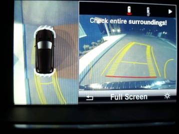 Работа камеры заднего обзора Mercedes